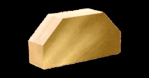 Гладкий  2-х угловой