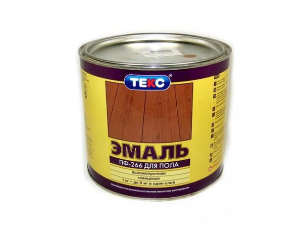 Эмаль ПФ-266 класс УНИВЕРСАЛ желто-коричневая (2,2 кг)