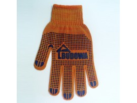 Перчатки х/б BUDOWA оранжевые