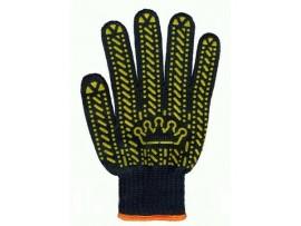 Перчатки х/б с ПВХ-точкой 5612 (Корона)
