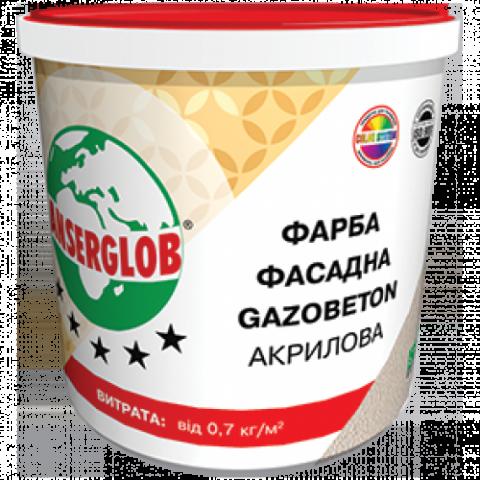 Краска фасадная акриловая GAZOBETОN 28кг