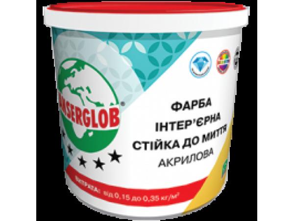 Краска интерьерная для стен и потолка акриловая 1,4 кг