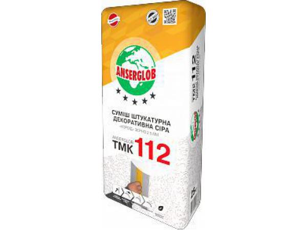 Смесь декоративная минеральная «TMK-112»«Короед» (серая)  25кг