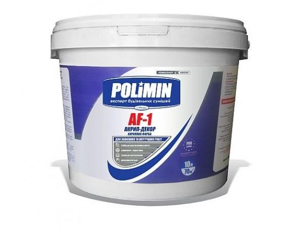 Краска акриловая фасадная ПОЛИМИН АF-1 (14 кг)