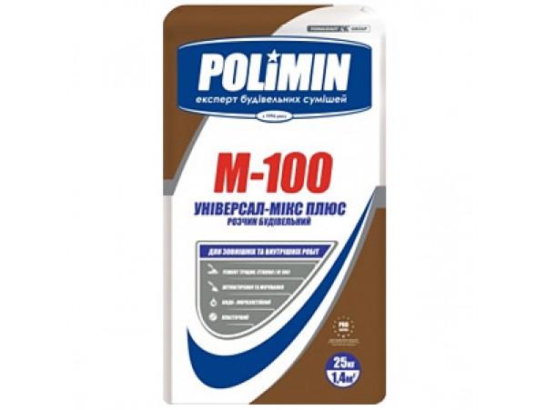 Смесь Полимин строительная М-100 (25кг)