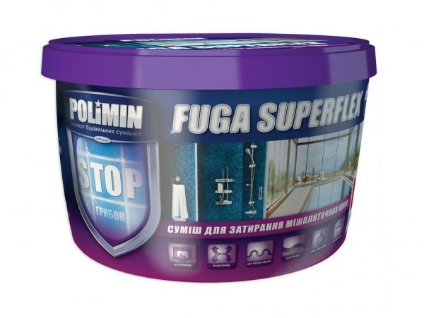 Заполнитель швов FUGA SUPERFLEX серый (2кг) (дой-пак)