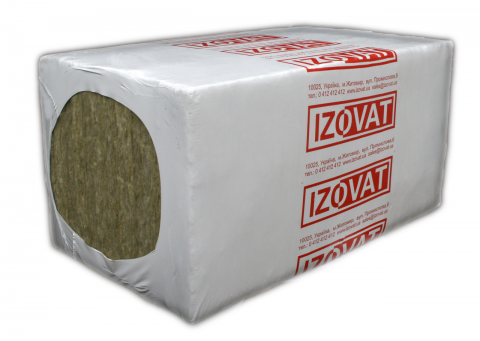 Плита базальтовая IZOVAT 100 100х600х1000 мм (1,8м2)