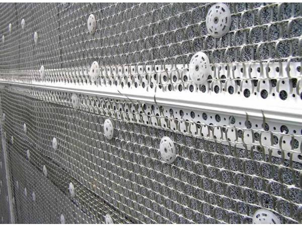 Сетка штукатурная 6х5мм 1х50м плотность 140гр/м2