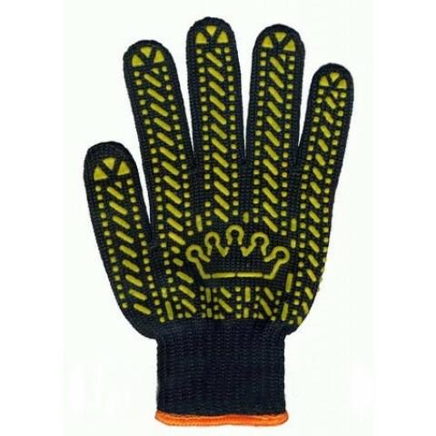 """Перчатки, """"Корона"""" из ПВХ-Точка (5611)"""
