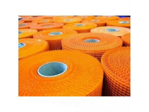 Сетка штукатурная 6х5мм 1х50м плотность 165гр / м2 апельсин F1